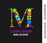 vector graphic elegant... | Shutterstock .eps vector #341049440