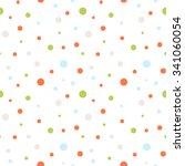 seamless retro dots pattern