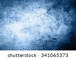 Stock photo grunge blue background 341065373