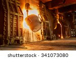 Metal Smelting Furnace In Steel ...