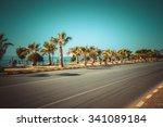 Automobile Road Along...