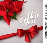 Happy New Year. Vector Holiday...