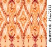 seamless oriental decor. ethnic ...   Shutterstock .eps vector #341172533