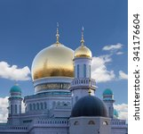 Moscow Cathedral Mosque  Russi...