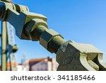 metal structure elevation... | Shutterstock . vector #341185466