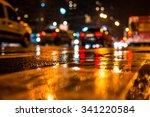 Rainy Night Big City Dense - Fine Art prints