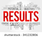 results word cloud  business... | Shutterstock .eps vector #341232806