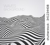 abstract waves baskground | Shutterstock .eps vector #341234408