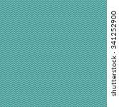 seamless cyan zig zag pattern | Shutterstock . vector #341252900