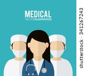 medical concept about helthy...   Shutterstock .eps vector #341267243