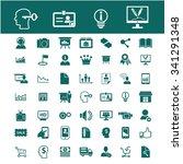 online education  learning ... | Shutterstock .eps vector #341291348