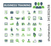 business training  webinar ... | Shutterstock .eps vector #341302658