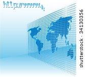 internet   Shutterstock .eps vector #34130356