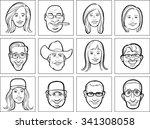 outline vector illustration of...   Shutterstock .eps vector #341308058