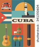 set of cuba icons
