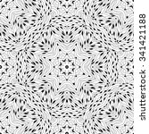 abstract vector decorative... | Shutterstock .eps vector #341421188