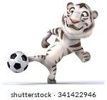 Stock photo fun tiger 341422946