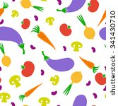 vegetables background | Shutterstock .eps vector #341430710