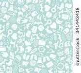 vector background of the flat... | Shutterstock .eps vector #341443418