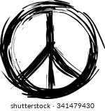 peace symbol | Shutterstock .eps vector #341479430