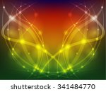 colorful background with lines...   Shutterstock . vector #341484770