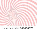 pink twist shape pattern... | Shutterstock .eps vector #341488370