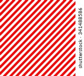 diagonal stripe red white... | Shutterstock .eps vector #341488586