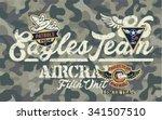 eagles team  vector artwork for ...   Shutterstock .eps vector #341507510