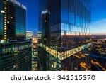 modern business skyscrapers ... | Shutterstock . vector #341515370