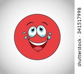 smiley faces design  vector... | Shutterstock .eps vector #341517998
