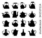 kettle vector | Shutterstock .eps vector #341519114
