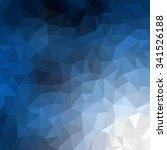 abstract blue white polygonal... | Shutterstock .eps vector #341526188