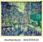 duck pond  england  uk   Shutterstock . vector #341555414