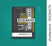 brochure layout with business