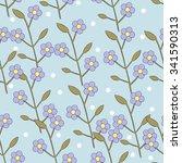 floral pattern | Shutterstock . vector #341590313