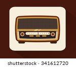 music concept about sound ... | Shutterstock .eps vector #341612720