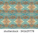 vector abstract seamless... | Shutterstock .eps vector #341629778