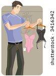 shopping vector illustration... | Shutterstock .eps vector #3416342