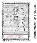 Queen Of Cups. The Minor Arcan...