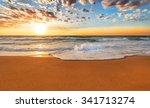 sea sunrise. | Shutterstock . vector #341713274
