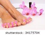 beauty treatment photo of nice... | Shutterstock . vector #34175704