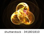 abstract fractal background | Shutterstock . vector #341801810