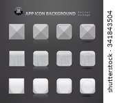 app icons background set. grey...