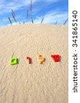 Plastic Characters Of Hebrew...