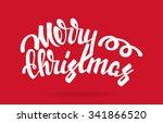 merry christmas vector... | Shutterstock .eps vector #341866520