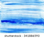 abstract acrylic hand drawn... | Shutterstock . vector #341886593