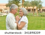 portrait of a senior couple... | Shutterstock . vector #341898209