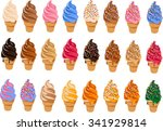 vector illustration of soft... | Shutterstock .eps vector #341929814