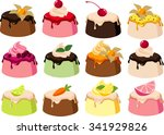 vector illustrations of various ... | Shutterstock .eps vector #341929826
