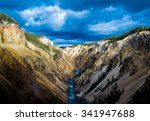 Yellowstone Canyon Looking Downriver Lower - Fine Art prints